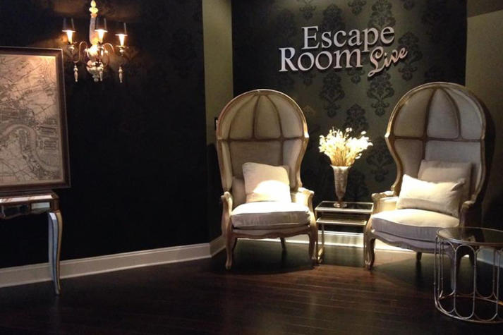 Escape room live alexandria for Escape room concept
